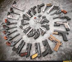 Pistology, the study of pistols. Self Defense Weapons, Weapon Of Mass Destruction, Pro Gun, Shooting Gear, Airsoft Guns, Weapons Guns, Guns And Ammo, Firearms, Shotguns