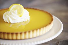 The classic French lemon tart sings with its lemony flavors in a delicious pastry. Use as a both a dessert and for a snack with a cup of coffee.