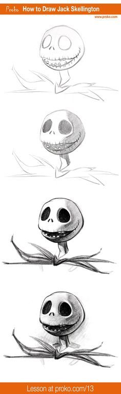 """Get in the Halloween spirit as I show you how to draw Jack Skellington from """"The Nightmare Before Christmas"""" by Tim Burton."""