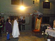 Novenario por las calles de Tequex parte alta en honor a la Virgen de Guadalupe madre de todos los mexicanos y del mundo entero.