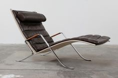 Fabricius & Kastholm Grashopper Chair | From a unique collection of antique and modern chaises longues at http://www.1stdibs.com/furniture/seating/chaises-longues/