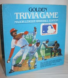 Major League Baseball Trivia Game from Golden 1984 w some Complete Never used  #Golden