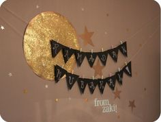 too late for a ramadan banner but such a cute idea for eid! Eid Crafts, Ramadan Crafts, Ramadan Decorations, Paper Decorations, Iftar Party, Eid Party, Islam Ramadan, Ramadan Mubarak, Eid Mubarek
