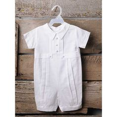 Jace Baby Boy's Christening Outfit by ALLIEWADE on Etsy, $40.00