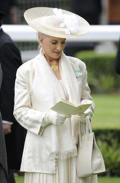 Princess Michael of Kent at Royal Ascot. June 18, 2013.