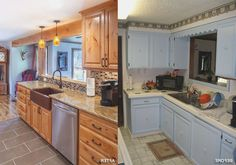 Before And After Kitchen Remodel Texas Style Remodel