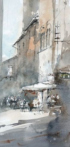 Jean-Luc Mossion (watercolor painting)