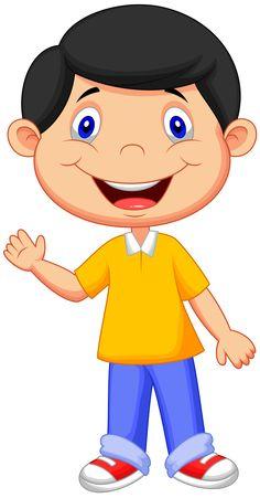 "Photo from album ""Collection No. Cute Cartoon Boy, Boy And Girl Cartoon, Happy Cartoon, Owl School, School Frame, Preschool Learning Activities, Teaching Kids, Drawing For Kids, Art For Kids"