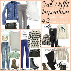 Fall Outfit Inspiration - links to every piece! #fall, #outfits, #inspiration