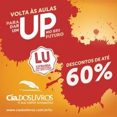 Seu futuro mais certo com a Livraria Universitária Cia. dos Livros! Títulos para a volta às aulas com até 60% OFF. Garanta os seus!  Vem! -> http://www.ciadoslivros.com.br/lu