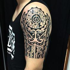 Los 10 Mejores tatuajes con significado Maori Tattoos, Maori Tattoo Meanings, Samoan Tribal Tattoos, Tattoo Designs And Meanings, Tattoo Designs For Women, Tattoos With Meaning, Sleeve Tattoos, Bicep Tattoos, Tatoos