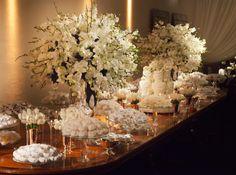 Confiram nossas dicas para a decoração de casamento branca ;)