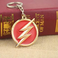 The Flash Keychain | the flashmemes,the flashpoint, the flashpoint paradox dc comics, the flash, the flash ϟ (2014) #theflashcw #theflashcomics