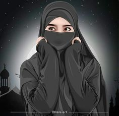 Please to visit my website Cartoon Girl Images, Couple Cartoon, Girl Cartoon, Cartoon Art, Arab Girls Hijab, Girl Hijab, Muslim Girls, Muslim Images, Muslim Pictures