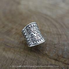 BOHO 925 Silver Ring-Gypsy Hippie Ring,Bohemian style,Statement Ring R124 JewelryBOHO,Handmade sterling silver BOHO Tribal printed ring