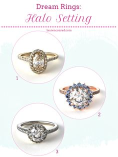 beautiful halo setting rings from james allen