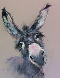Drawing animals horses watercolor painting Ideas for 2019 Cute Animal Drawings, Pencil Drawings, Art Drawings, Drawing Animals, Art Sketches, Drawing Faces, Watercolor Animals, Watercolor Paintings, Artwork Paintings