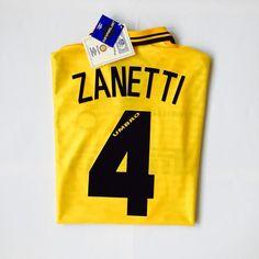 AVAILABLE NOW. @inter Zanetti #4 1996/97. #Zanetti #intermilan #90s #umbro #cultkits #box2boxfootball #shop #fashion #design #footballculture #soccerculture #footballshirt #soccerjersey #italy #serieA