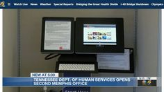 Digital Retail, Weather Report, Human Services, Live News, Memphis, Self Help, Tennessee, Kiosk, Learning