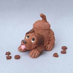 Hound Dog miniature cookie jar