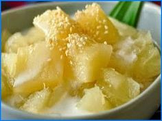Resep Singkong Thailand Fruit Recipes, My Recipes, Asian Recipes, Cake Recipes, Snack Recipes, Cooking Recipes, Favorite Recipes, Healthy Recipes, Snacks