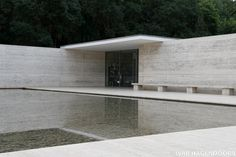 Building: Barcelona Pavilion Location: Barcelona Architect: Mies van der Rohe Year of completion: 1929