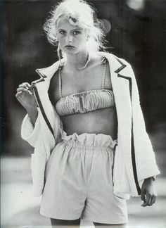 French Vogue 1978 Bitten Knudsen