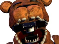 fnaf 2 gif jumpscare, Old Freddy kind of reminds me of Packman Five Nights At Freddy's, Fnaf Gif, Anime Fnaf, Fnaf Freddy, Freddy Fazbear, Really Scary Games, Fnaf Jumpscares, Toy Bonnie, Xbox One Skin