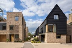 RIBA East Award RIBA East Project Architect of the Year - sponsored by Lafarge Tarmac, and RIBA East Building of the Year - sponsored by ET Clay Products Ltd: Abode, Great Kneighton by Proctor and Matthews Brick Architecture, Residential Architecture, Contemporary Architecture, Architecture Company, Social Housing, Affordable Housing, Modern House Design, Townhouse, Loft