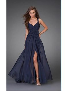 """$150 as much as I fall in love with evening gowns I should probably walk red carpets more often so I'd have a reason to buy them """"2012 Spring Custom made Free shipping Sexy Empire Floor Lenth Prom dress/ Evening Dresses  With beading For party/brides PD6061-1"""""""