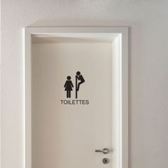 WC Signalétique toilettes
