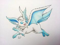 Flying-type Eeveelution: Zephyreon by atta9 on DeviantArt