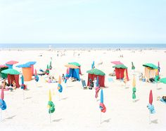 Massimo Vitali - The Italian photographer transforming beach scenes into landscapes