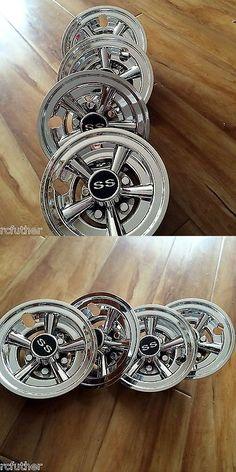 2037eae848b Push-Pull Golf Carts 75207  Universal 8 Golf Cart Hub Cap Wheel ...