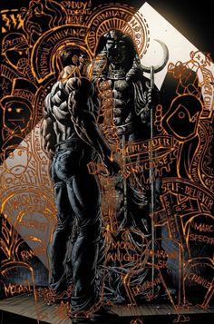 Moon Knight screenshots, images and pictures - Comic Vine Marvel Comics, Marvel Art, Comic Book Artists, Comic Artist, Marvel Moon Knight, Midnight Son, Japanese Folklore, Knight Art, Batman Beyond