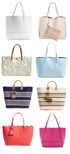 My Favorite Totes for Summer…