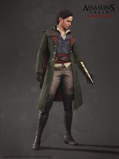 I made the Military Suit for Evie Frye, in AC: Syndicate. (Evie's head by Alexis Belley Dufault) Assassins Creed Syndicate, Assassins Creed Cosplay, Xbox One, Larp, Military Suit, Connor Kenway, All Assassin's Creed, Assains Creed, Logos Retro