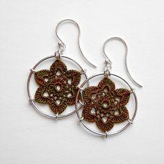 Crochet earrings by mccordworks