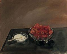 Max Slevogt - Erdbeeren (1903)