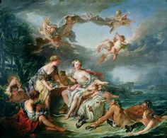 The Rape of Europa. Fransois Boucher (French art, 1703–1770)