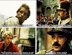 """*Sniffle* Well, this was the most beautiful """"You at the barricades"""" in the history of ever"""