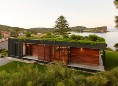 avalon house, from design boom, green roof, isseisuma_jikka