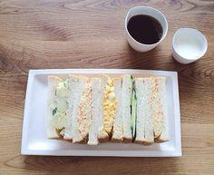 サンドイッチの朝