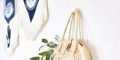 DIY Silk Scarf Tutorial - Crafttool Scarf Tutorial, Silk Scarves, Needle And Thread, Plant Hanger, Something To Do, Fabric, Crafts, Diy, Tejido