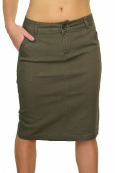 Busy Clothing Womens Black Pencil Skirt Busy, http://www.amazon.co ...