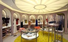 New concept La Perla boutique at Pacific Place, Hong Kong. Vertical City, Pacific Place, British Colonial, Luxury Lingerie, Nightwear, Hong Kong, Lighthouse, Shopping, Concept