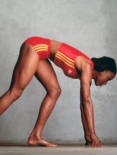 Jackie Joyner-Kersee. Ranked among the all-time greatest American women athletes.