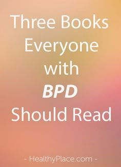 Books Everyone with BPD Should Read More Than Borderline's Becky Oberg discusses why people with BPD need to read three books related to trauma. More Than Borderline's Becky Oberg discusses why people with BPD need to read three books related to trauma. Mental Disorders, Bipolar Disorder, Stress Disorders, Mental Health Issues, Mental Health Awareness, Boarderline Personality Disorder, Borderline Personality Disorder Quotes, Dbt, My Demons