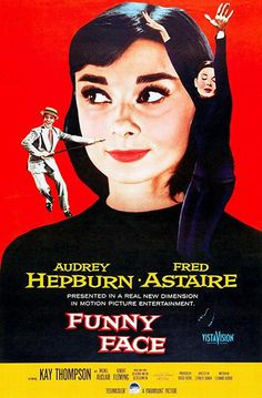 Funny Face - 1957 - Movie Poster