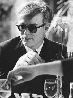 WARHOL; Why do people think artist are special? It's just another job. -AW